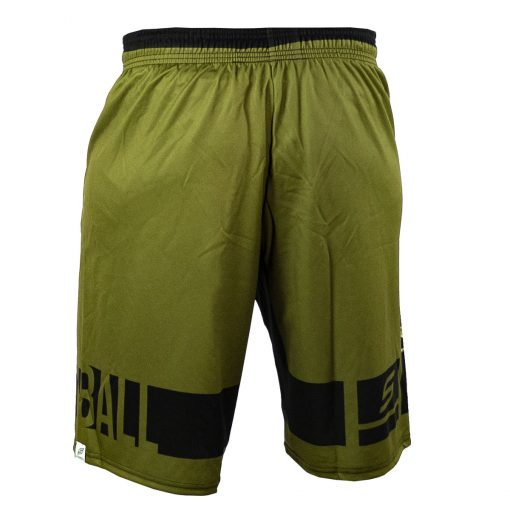 Social Paintball Grit Shorts, Tiger Olive Back