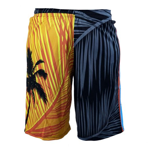 Social Paintball Grit Shorts, Tropics Back