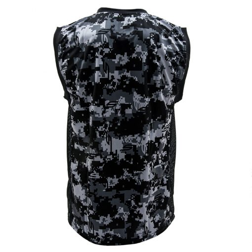 Social Paintball Grit Sleeveless Jersey, Socam Black Back