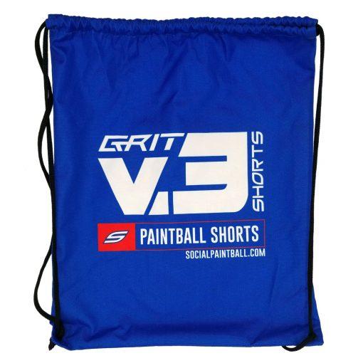 Social Paintball Grit v3 Shorts Drawstring Carry Bag