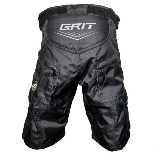 Grit v3 Paintball Shorts, Stealth Black Back