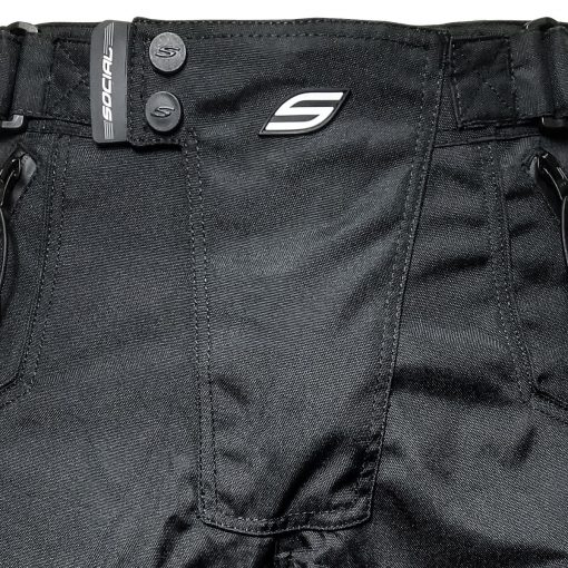 Grit v3 Paintball Shorts, Stealth Black Front Zoom