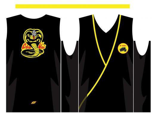 Cobra Kai Sleeveless Jersey