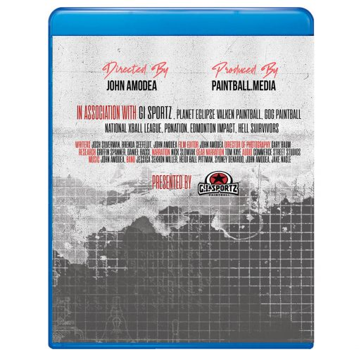 The Complete History of Paintball, Director's Cut (Blu-ray) Back Cover