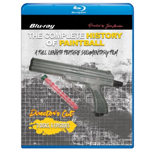 The Complete History of Paintball, Director's Cut (Blu-ray) Front Cover