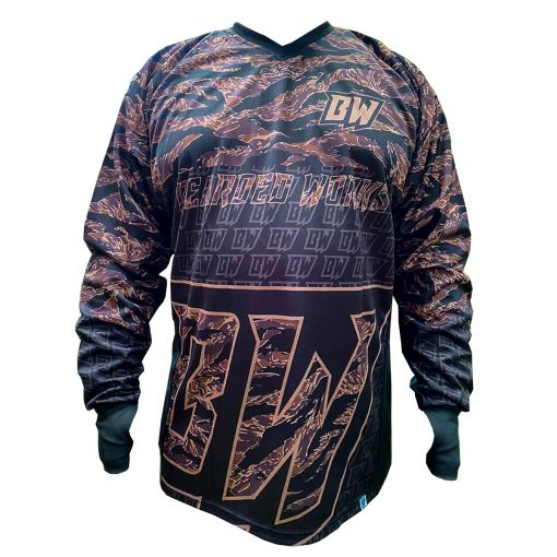 Bearded Works Unpadded Paintball Jersey Front