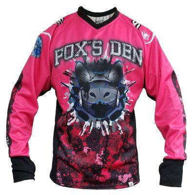 Fox's Den Unpadded SMPL Jersey, Attack Pink Front