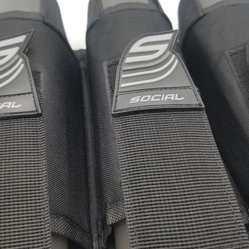 SMPL Pack Harness, 4 Pod Black Pod Strap Zoom
