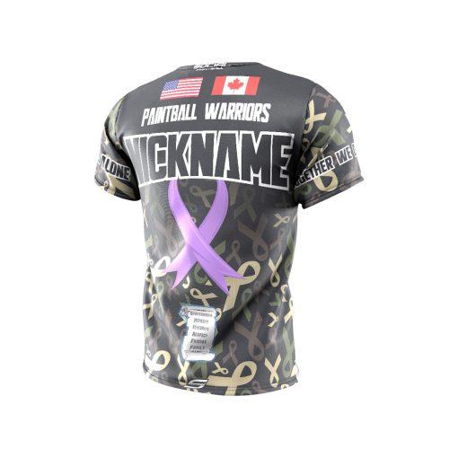 Fox's Den Grit Shirt, Charity Ribbon Camo Back