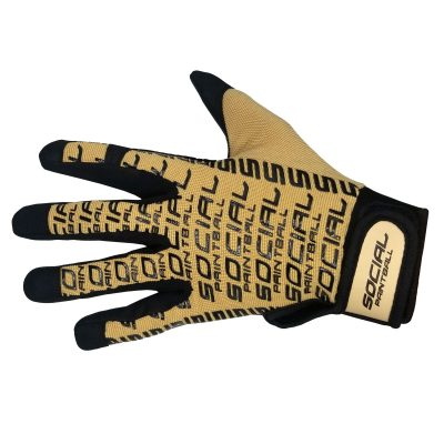 SMPL Paintball Gloves, Tan