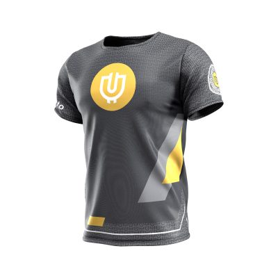 Useless Crypto Grit Dry-Wick Shirt Front