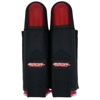 SMPL 2 Pod Pack Harness with Belt, Black Front
